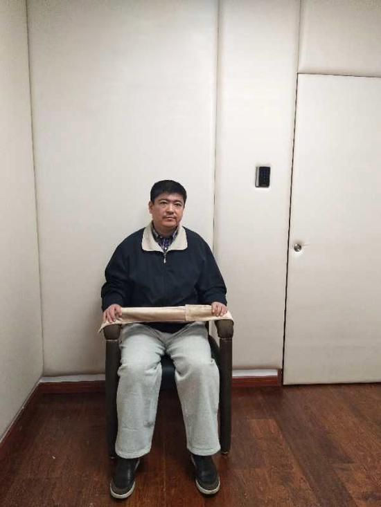 姜世强投案自首后接受调查