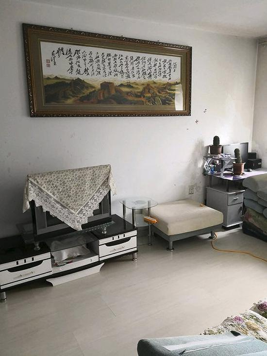 李海在鹤岗看的第一套房