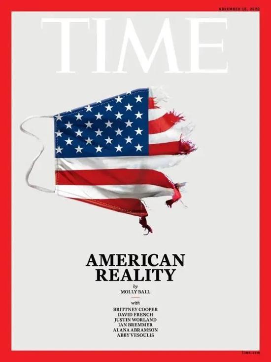 ·《时代》周刊推特上晒出最新一期封面。
