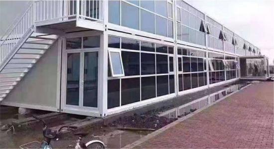 16个小时 武汉火神山医院第一栋楼完工