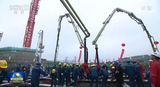 田湾核电站和徐大堡核电站合作项目正式开工