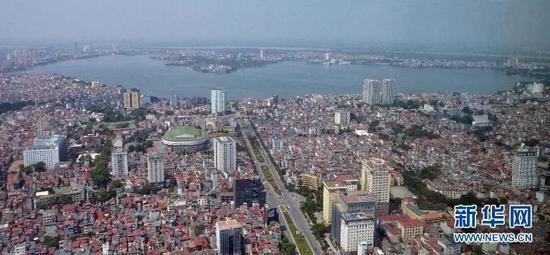 图为2015年越南首都河内城市一角。图源:闫建华|新华社