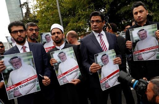 《华盛顿邮报》记者哈苏吉疑在土耳其遇害一案,引起各界关注。(图源:路透社)