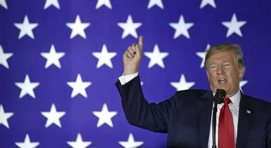 ▲特朗普将中国视为竞争对手。(美联社)