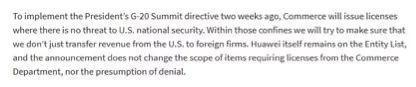 截图来自美国商务部官网