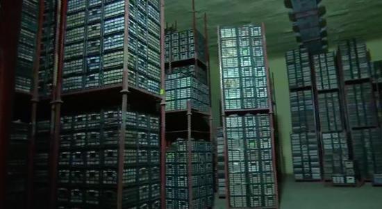 储存100万斤酥梨的冷库