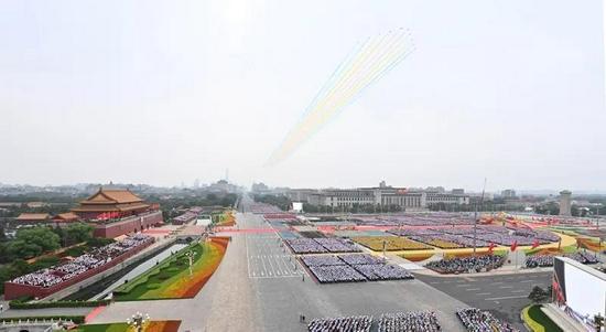 ▲2021年7月1日,庆祝中国共产党成立100周年大会在北京天安门广场隆重举行。