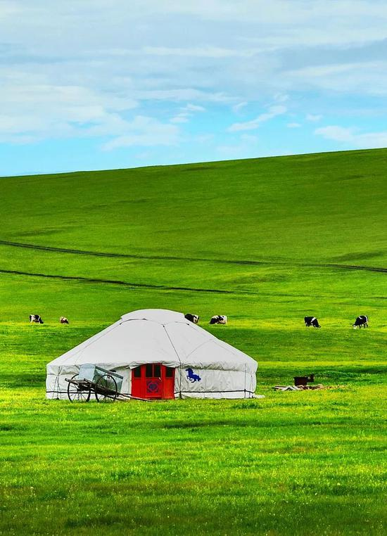 内蒙古,图片源自@VCG