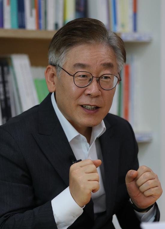 韩国京畿道知事李在明《韩民族》