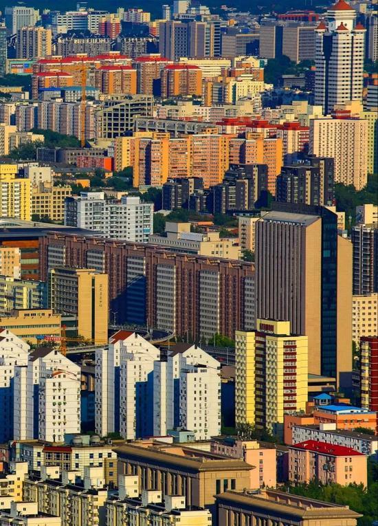 北京密集楼宇,摄影师@杨海/星球研究所