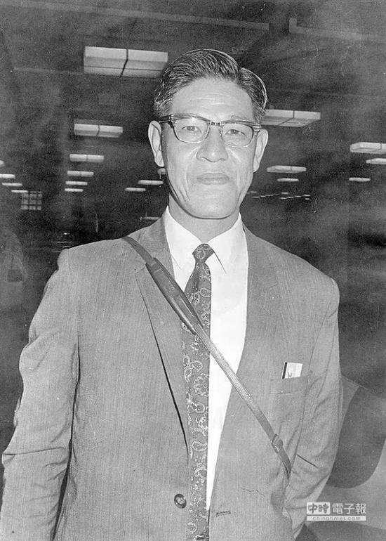 1969年的农业专家李登辉。