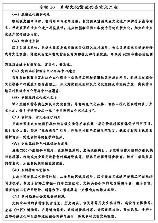 专栏10 乡村文化繁荣兴盛重大工程 新华社发