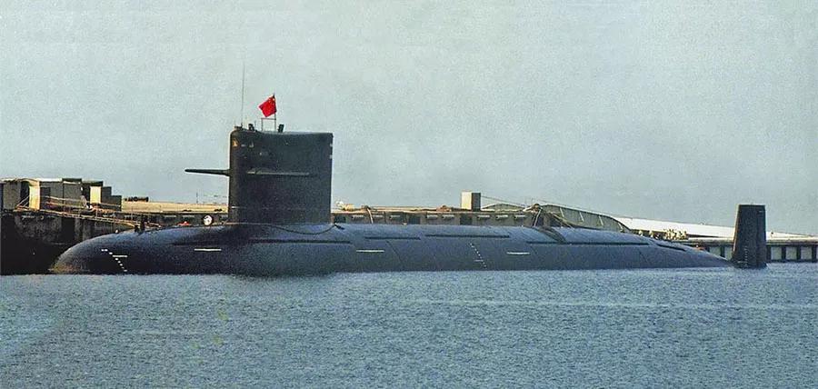 ▲093型潜艇