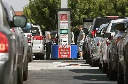 Costco配备的加油站