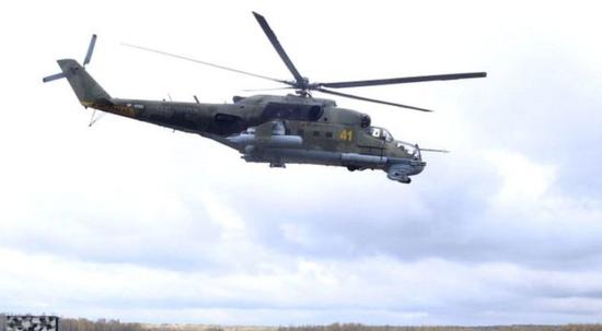 米-24武装直升机(Getty)