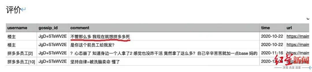 """▲网传""""太虚""""数据库信息被泄露的截图"""