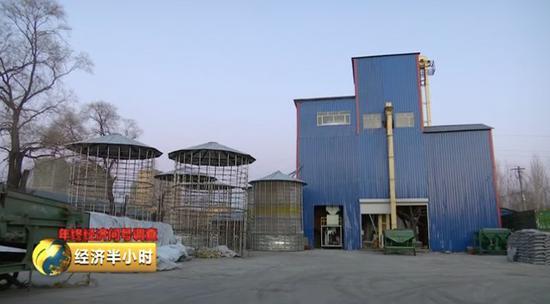 大豆贸易商杨培志家厂房
