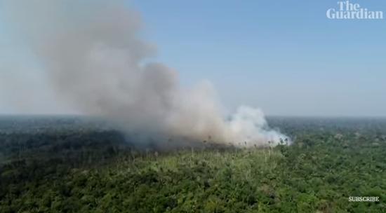 马克龙要G7重点讨论亚马逊大火 被巴西总统暴怼