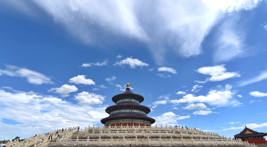 北京祈年殿佛香阁等20处核心景区 29日起陆续开放