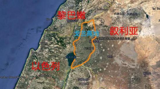 1967年第三次中东战争中,以色列就趁战争占领了戈兰这一战略要地。(资料图)
