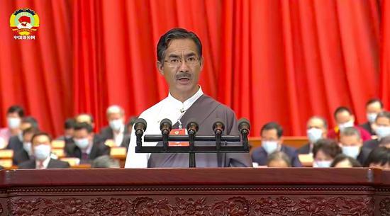 政协委员尼玛扎西:西藏62.8万人全脱贫 74个贫困县区全摘帽