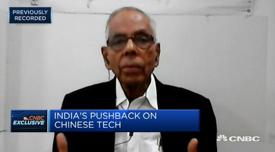 印前官员:印度无法切断与中国经济关系 两国不是敌人