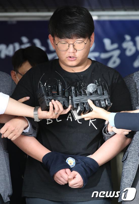 5月18日,图为韩国警方公布的照片