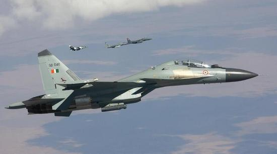 印度空军装备的苏-30MKI战斗机