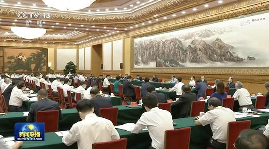 △7月21日,习近平在京主持召开企业家座谈会并发表重要讲话。
