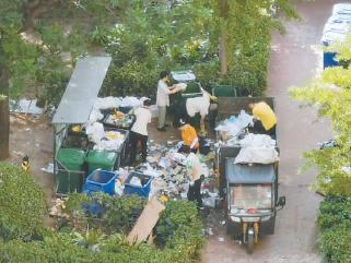 北京:混装混运仍然存在 垃圾分类还得加把劲儿