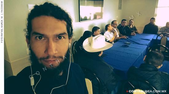 遇害记者何塞·拉斐尔·穆鲁亚·曼利克斯(墨西哥每日新闻)