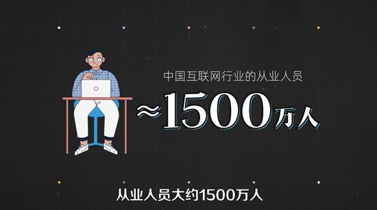 中国互联网走业从业人员数目