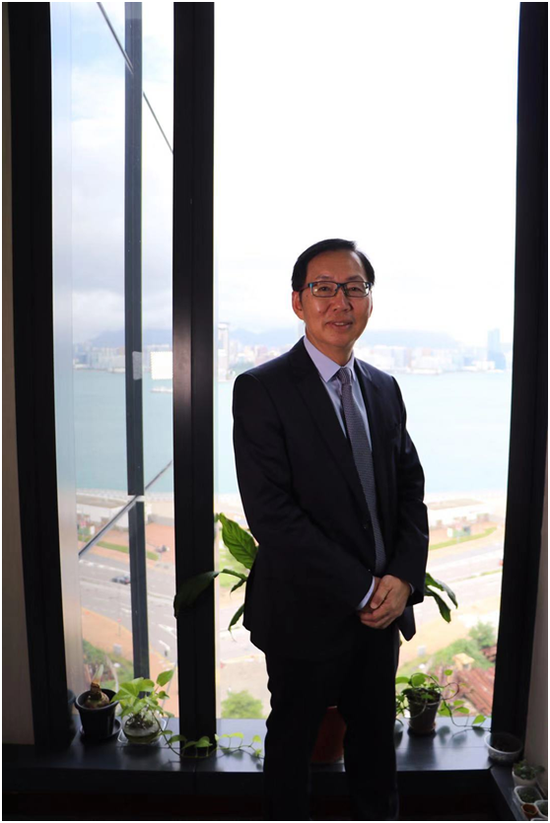 香港立法会财经委员会主席陈健波。