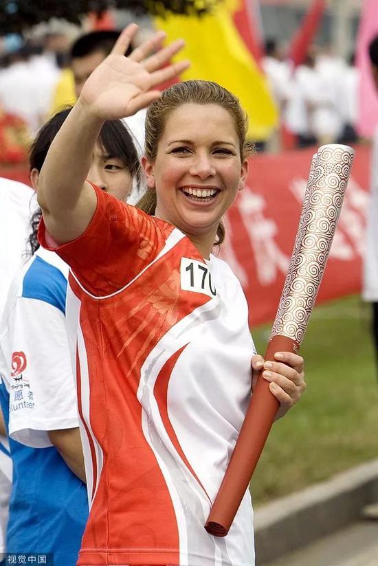 哈雅公主曾是北京奥运会火炬手之一。