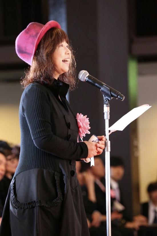 小丸子声优TARAKO(图源:ORICON NEWS)