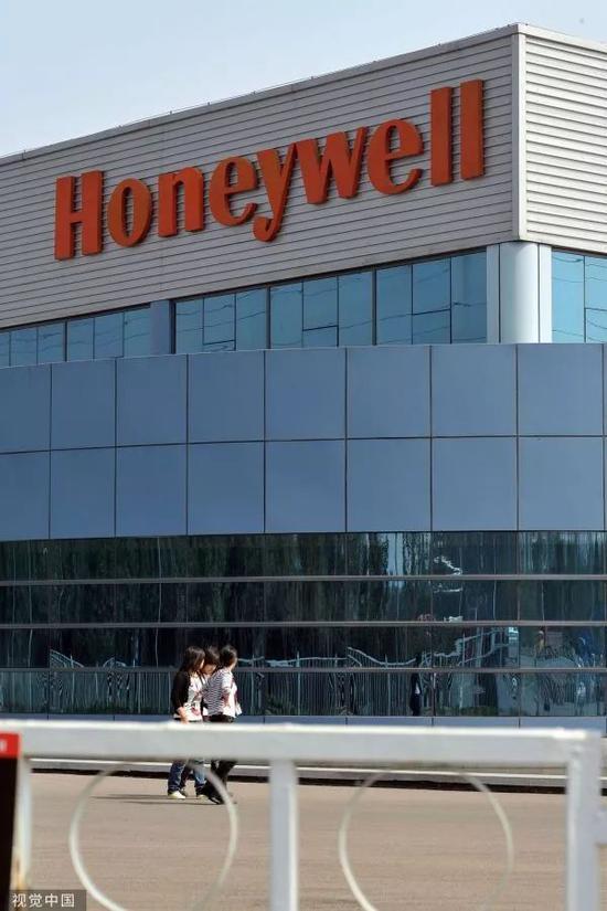 ▲天津经济技术开发区内的霍尼韦尔泰达工厂