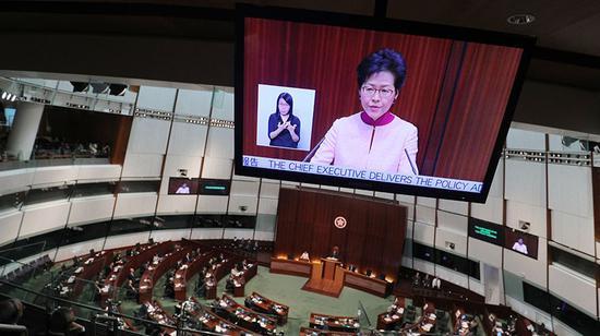 香港反对派对明星刘德华人身攻击 林郑月娥站出来抱不平