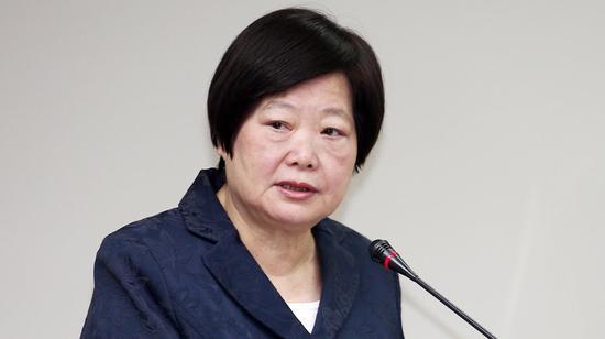 林美珠是蔡英文外姐(图片来源:台湾《说相符报》)