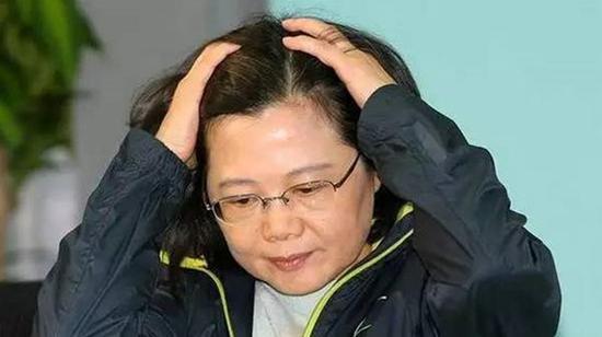 蔡英文 (图源:台媒)