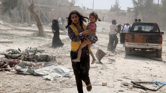 叙利亚当地局势持续动荡。(半岛电视台)