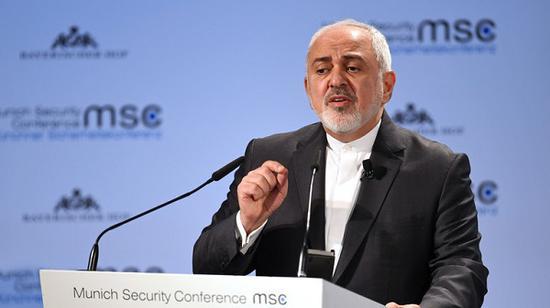 伊朗外交部长扎里夫(图源:今日俄罗斯网)