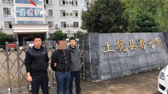目前,犯罪嫌疑人钟某因涉嫌诈骗罪被依法刑事拘留。