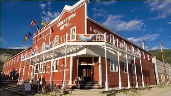 道森市小镇的市区酒店(图 via网络)