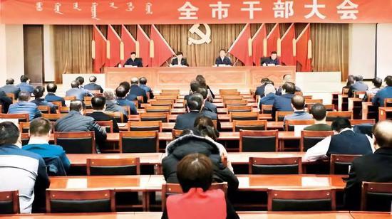 内蒙古自治区党委组织部副部长孙福龙在介绍情况时作了上述讲话。
