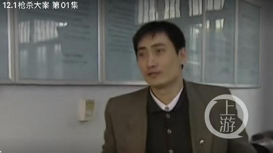 ▲刘红阳曾本色出演经典电视剧《12.1枪杀大案》。图为电视剧截图