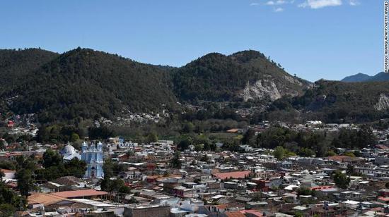 墨西哥恰帕斯州圣克里斯托瓦尔德拉斯卡萨斯 图片来源:CNN
