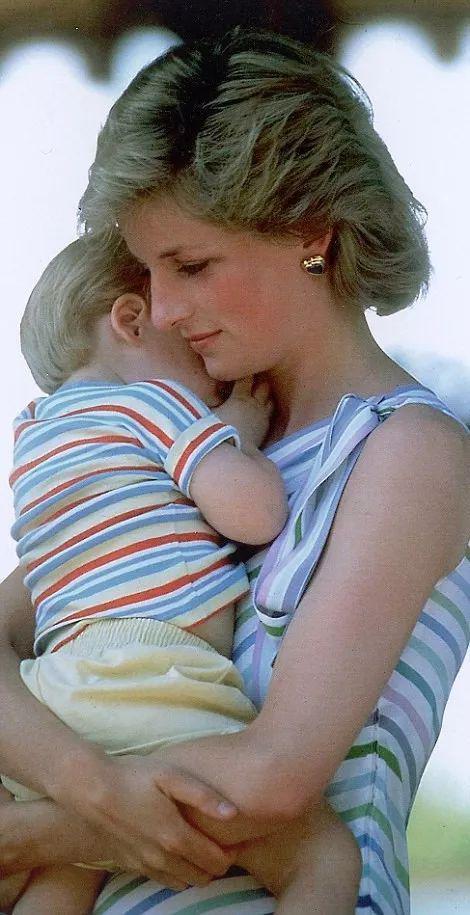 ·戴安娜怀抱哈里