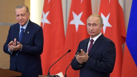 俄土一致决定在伊德利卜省建立非军事区(图:卫星新闻网)