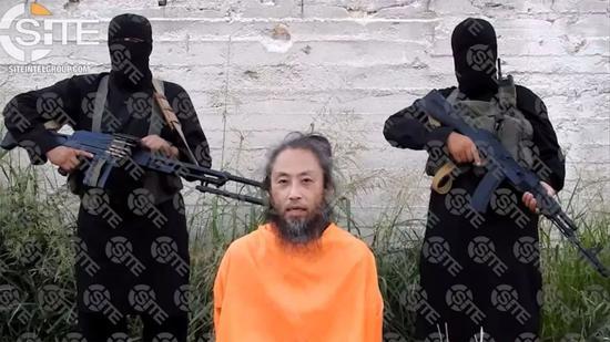 ▲原料图片:在叙利亚被圣战结构绑架的日本记者安田纯平。(视觉中国)