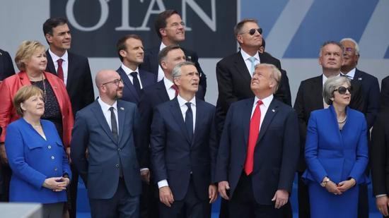 """▲特朗普与传统盟友的""""裂痕""""越来越大。(盖帝图像)"""